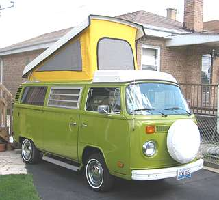 What kind of vehicles does everyone have? Westfalia